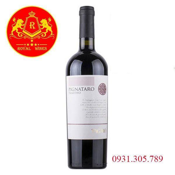Rượu Vang Pignataro Primitivo