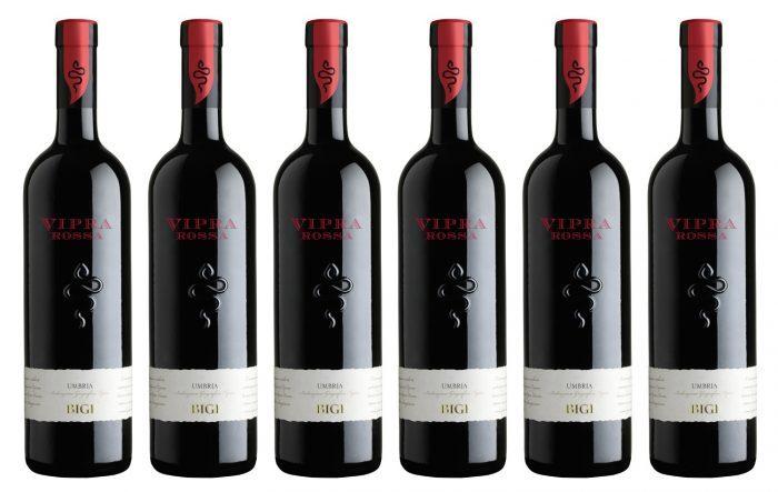 Rượu vang VIPRA ROSSA Umbria Bigi