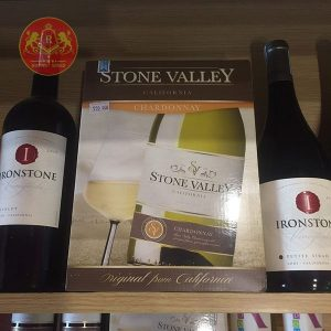 Vang Bịch Stone Valley California Zinfandel 3l