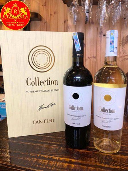 Rượu Vang Fantini Collection Supreme Red 1