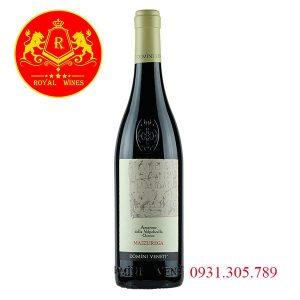 Rượu Vang Amarone Mazzurega
