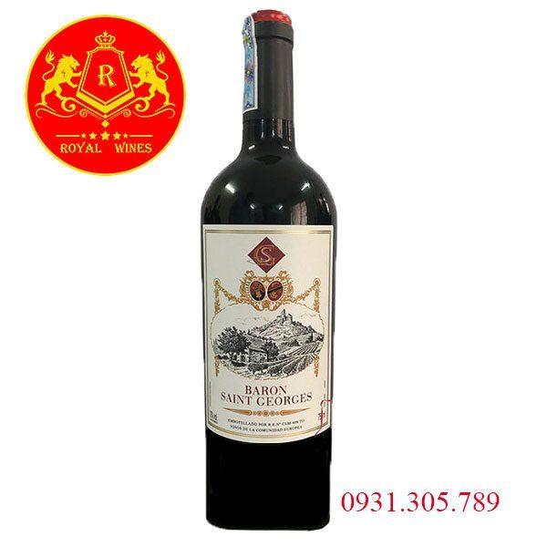 Rượu Vang Baron Saint Georges