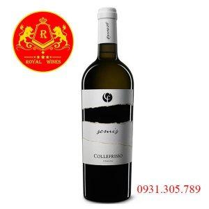 Rượu vang Cf Semis Collefrisio