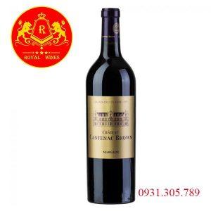 Rượu Vang Chateau Cantenac Brown Margaux