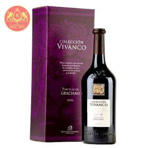 Rượu Vang Coleccion Vivanco Graciano 1