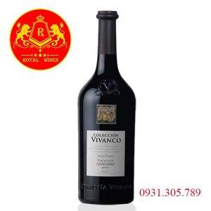 Rượu Vang Coleccion Vivanco Graciano