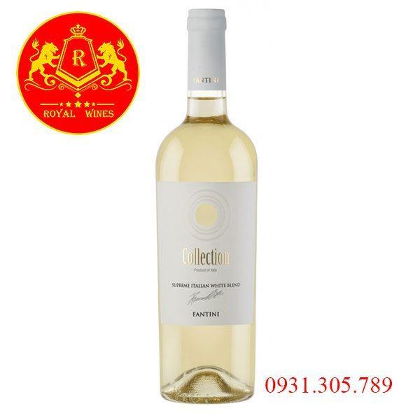 Rượu Vang Collection Fantini White Blend
