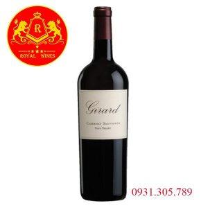 Rượu Vang Girard Cabernet Sauvignon