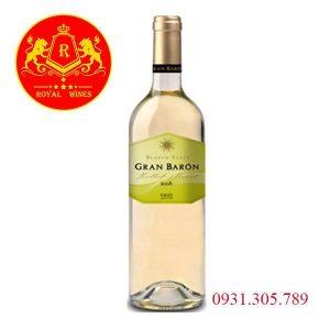 Rượu Vang Gran Baron Blanco Suave
