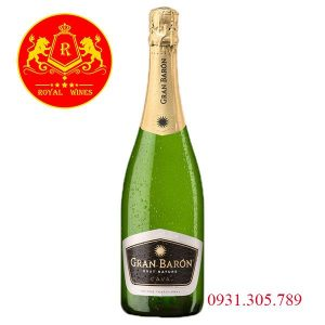 Rượu Vang Gran Baron Brut Nature