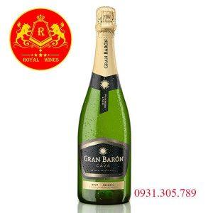 Rượu Vang Gran Baron Cava Brut Reserva