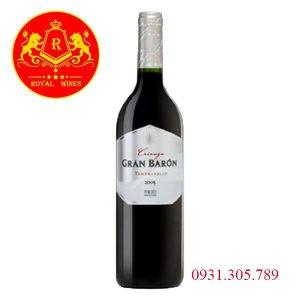 Rượu Vang Gran Baron Crianza
