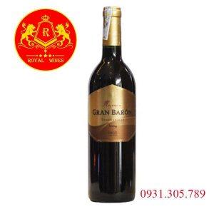 Rượu Vang Gran Baron Reserva