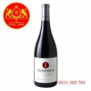 Rượu Vang Ironstone Petite Sirah