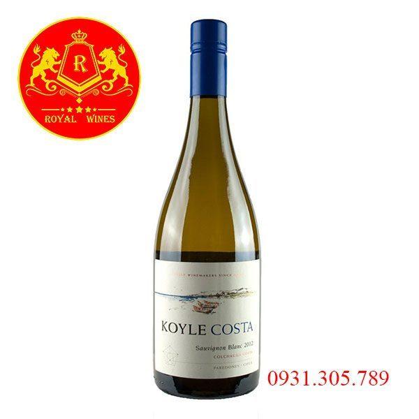 Rượu Vang Koyle Costa Sauvignon Blanc