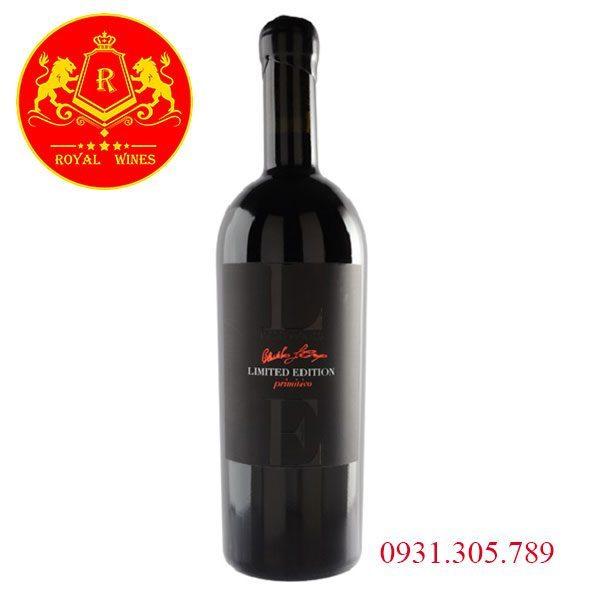 Rượu Vang Le Limited Edition Primitivo