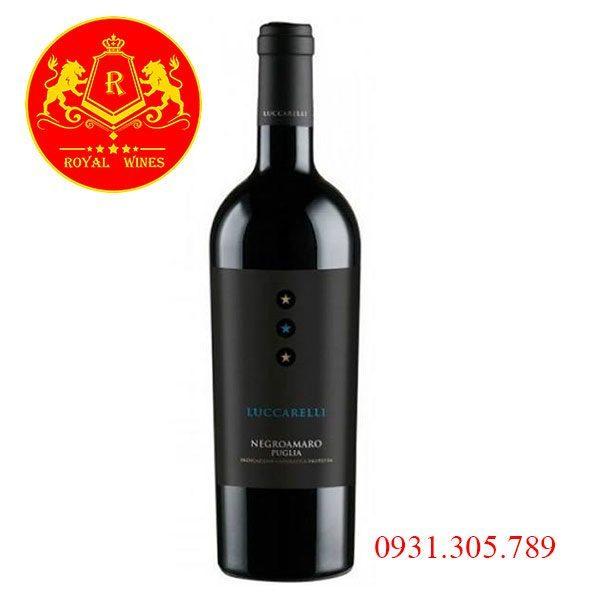 Rượu Vang Luccarelli Negroamaro