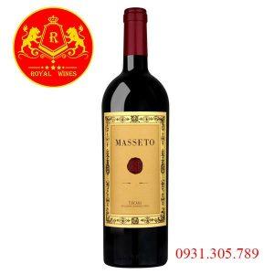 Rượu Vang Masseto 2014