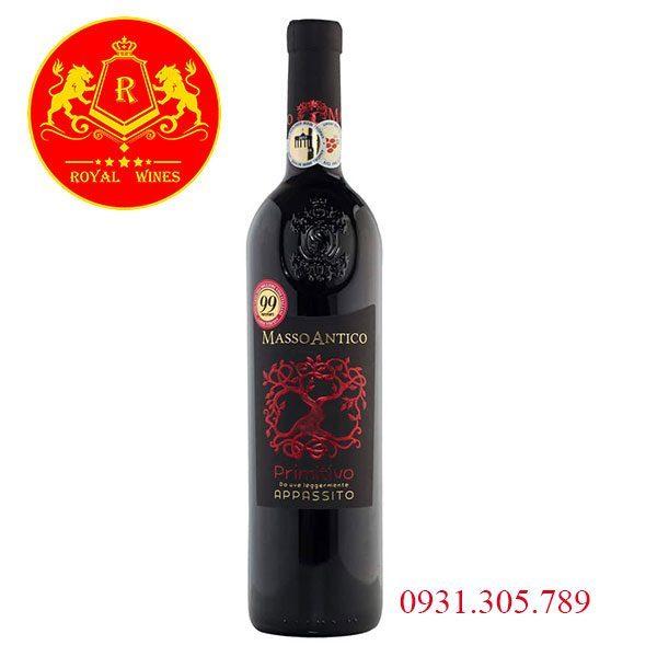 Rượu Vang Masso Antico Primitivo