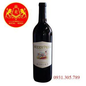 Rượu Vang Moody Prees Cellars Merlot