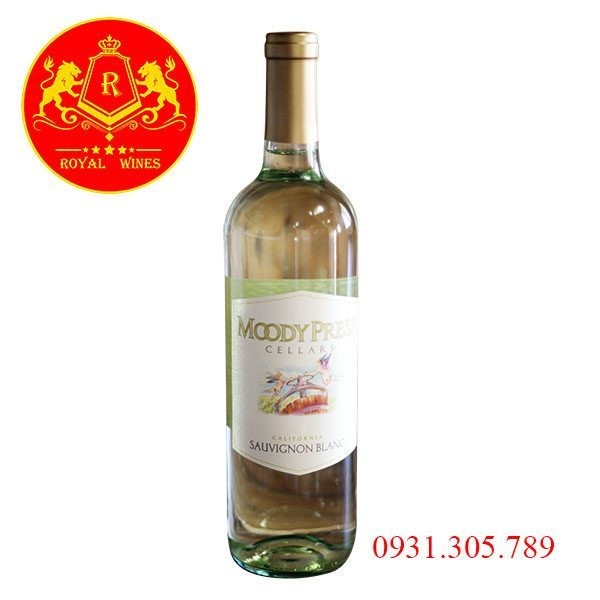 Rượu Vang Moody Press Cellars Sauvignon Blanc