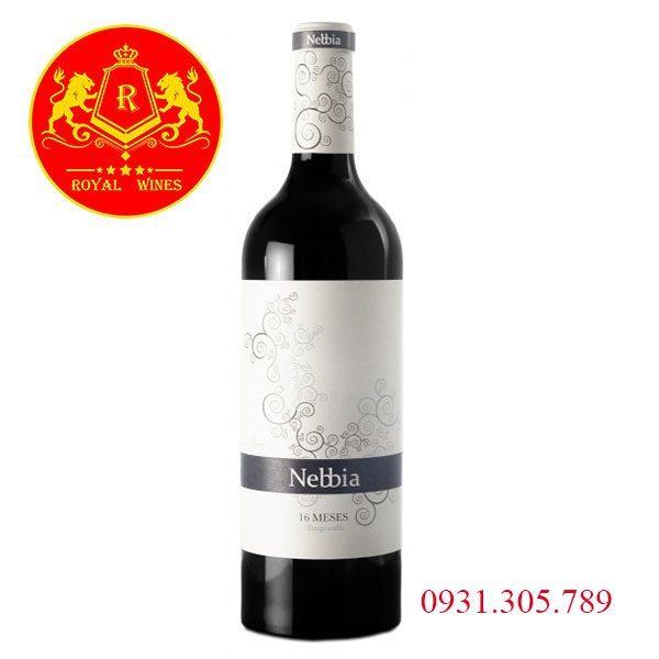 Rượu Vang Nebbia 16 Meses Tempranillo