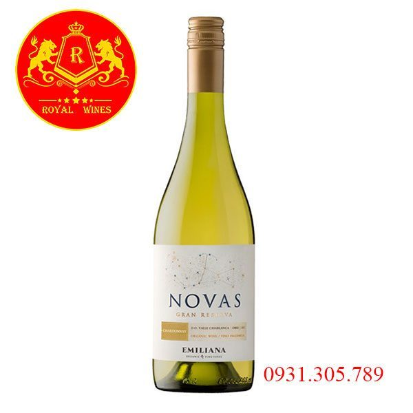 Rượu Vang Novas Gran Reserva Sauvignon Blanc
