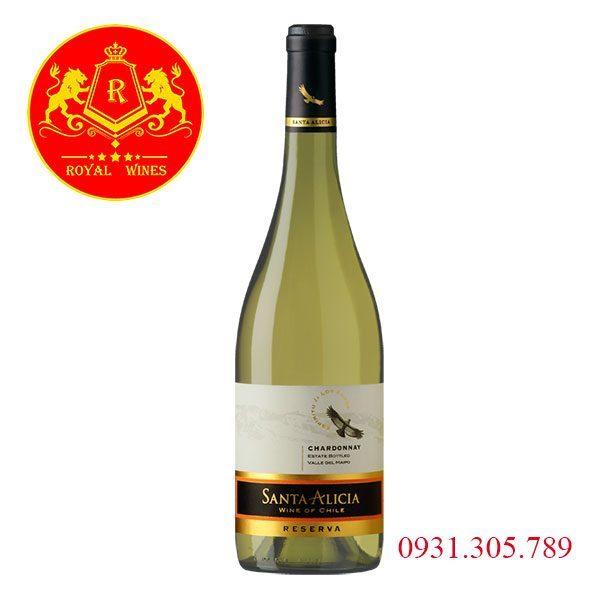 Rượu Vang Santa Alicia Chardonay Reseva