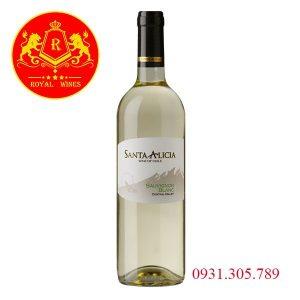 Rượu Vang Santa Alicia Sauvignon Blanc