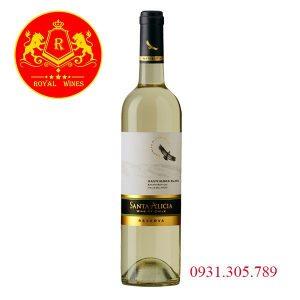 Rượu Vang Santa Alicia Sauvignon Blanc Reseva