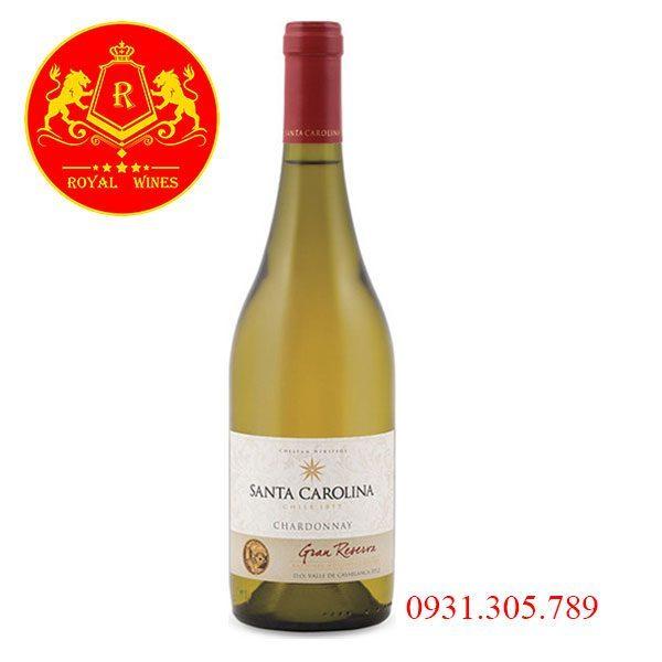 Rượu Vang Santa Carolina Gran Reserva Chardonay