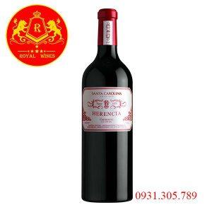Rượu Vang Santa Carolina Herencia Carmenere