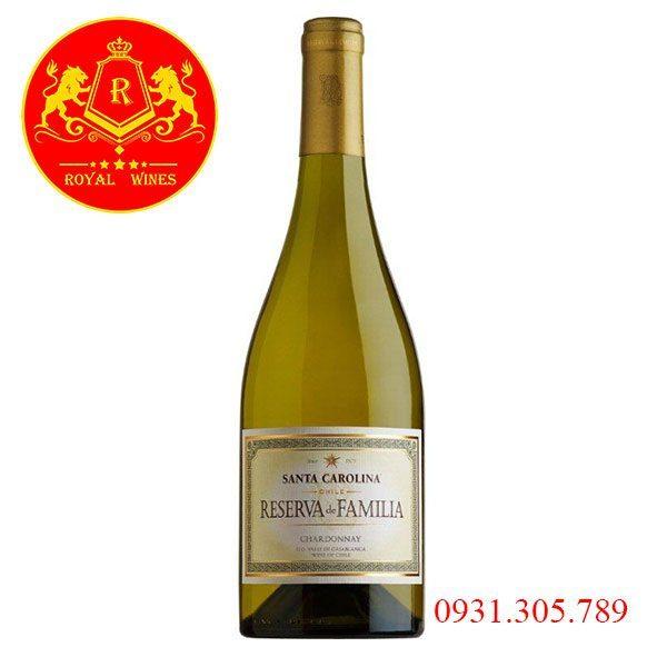 Rượu Vang Santa Carolina Reserva De Familia Chardonay
