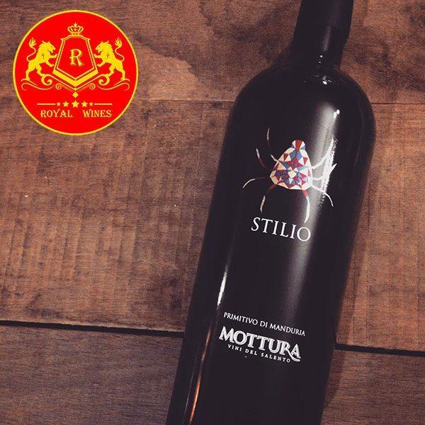 Rượu Vang Stilio Primitivo Di Manduria