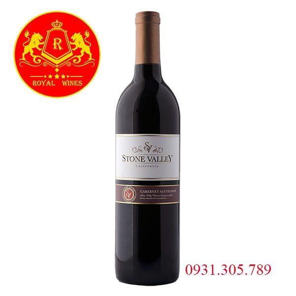 Rượu Vang Stone Valley Cabernet Sauvignon