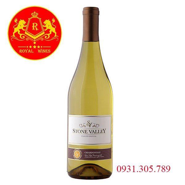 Rượu Vang Stone Valley Chardonnay