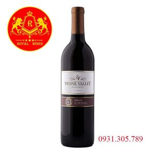 Rượu Vang Stone Valley Merlot