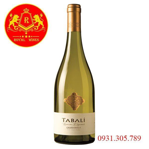Rượu Vang Tabali Reserva Especial Chardonnay
