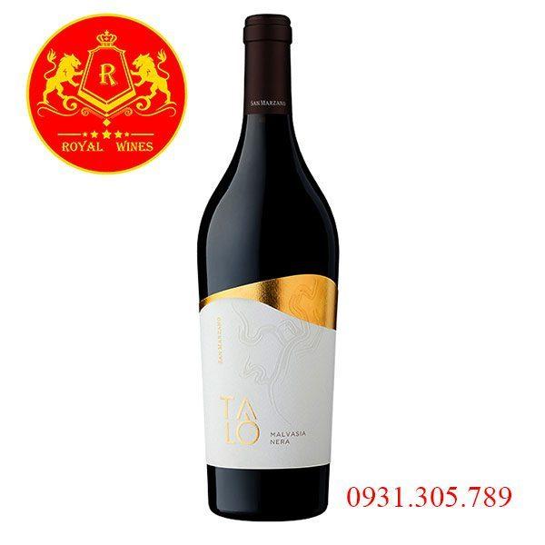 Rượu vang Talo Malvasia Nera