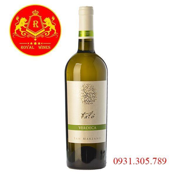 Rượu vang Talo Verdeca San Marzano