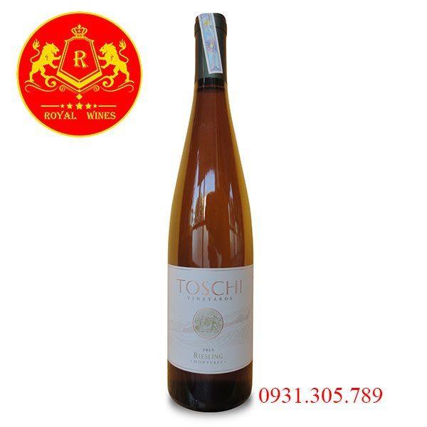 Rượu Vang Toschi Vineyards Riesling