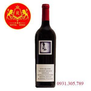 Rượu Vang Two Hands Secret Block Shiraz