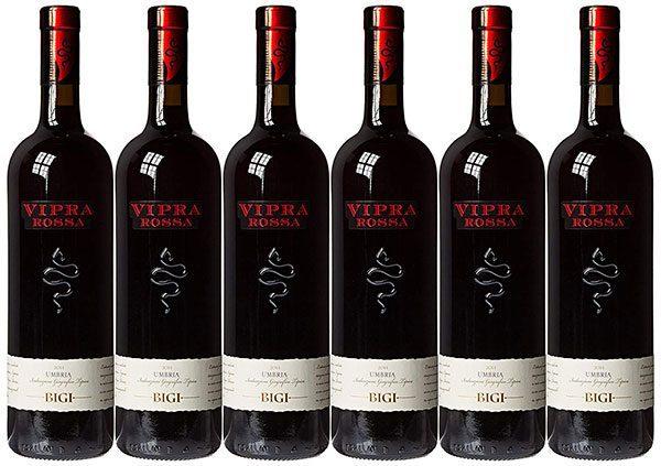 Rượu vang Vipra Rossa Bigi Umbria Itg 2