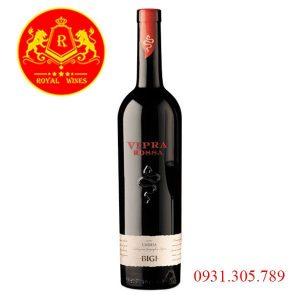 Rượu vang Vipra Rossa Bigi Umbria Itg