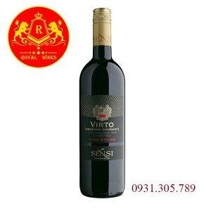 Rượu Vang Virto Vino Rosso Sensi