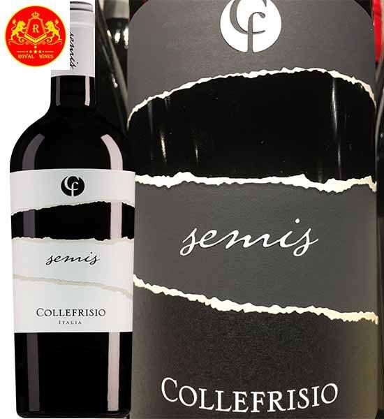 Rượu vang cf Collefrisio Semis 1