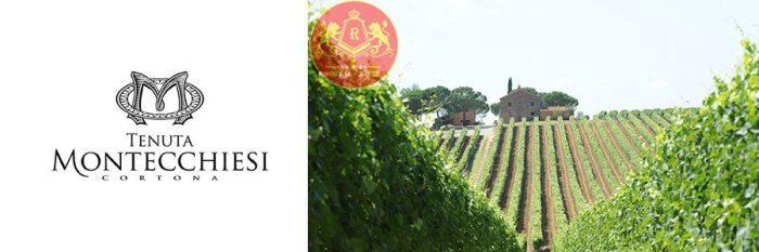 Rượu vang Tenuta MONTECCHIESI Cortona 23k Gold