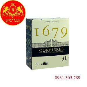 Vang Bịch 1679 Corbieres 3l