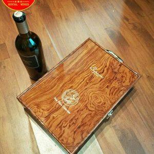 Hộp Rượu Vang Sơn Mài Đôi