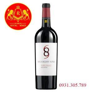 Rượu Vang 689 Six Eight Nine Napa Valley